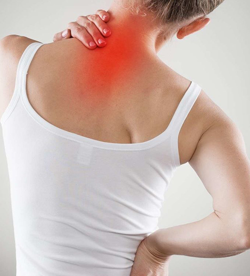 back, neck pain and joint pains