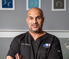 Dr. Usman Ahmad offers non-surgical, non-opioid regenerative medicine in Charlotte