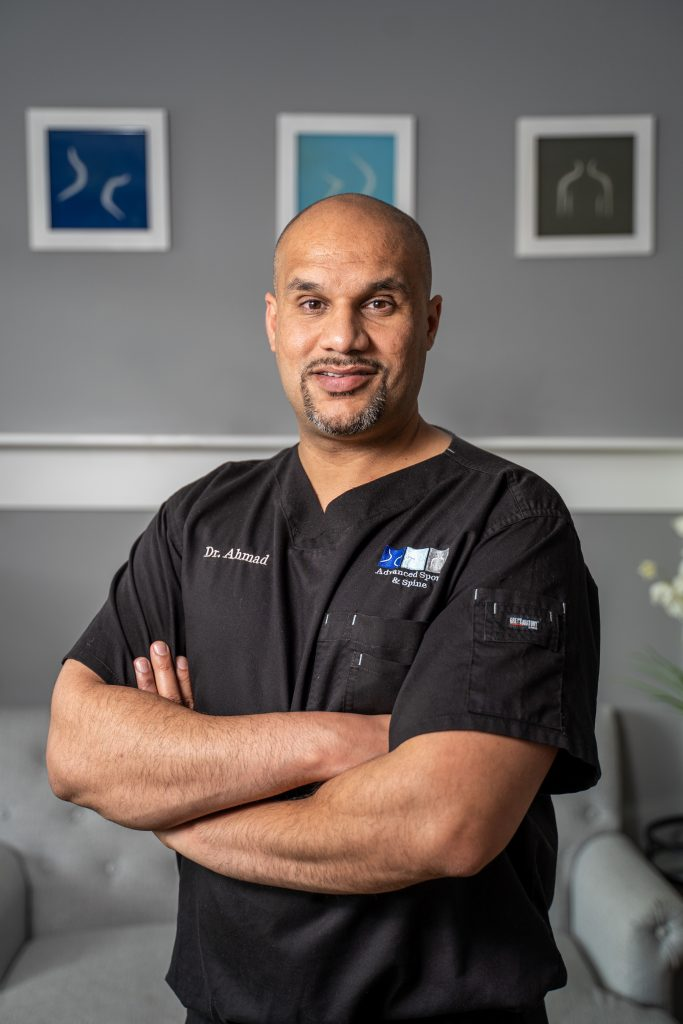 Dr. Ahmad offers non-surgical, non-opiate sports medicine in Charlotte NC